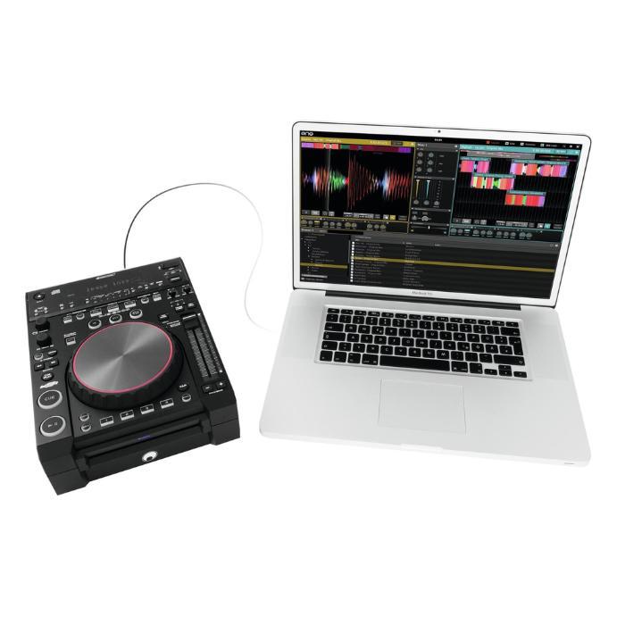 OMNITRONIC MEDIA PLAYER & MIDI CONTROLLER 4