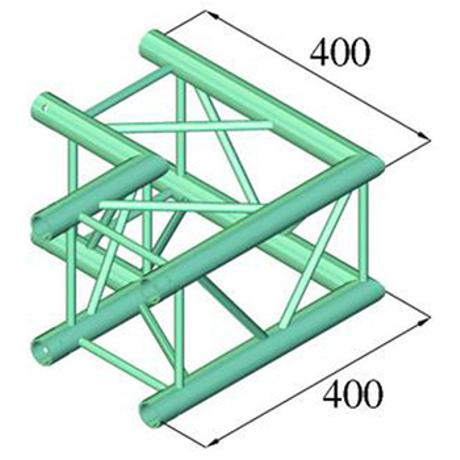ALUTRUSS 2-WAY CORNER 90 1