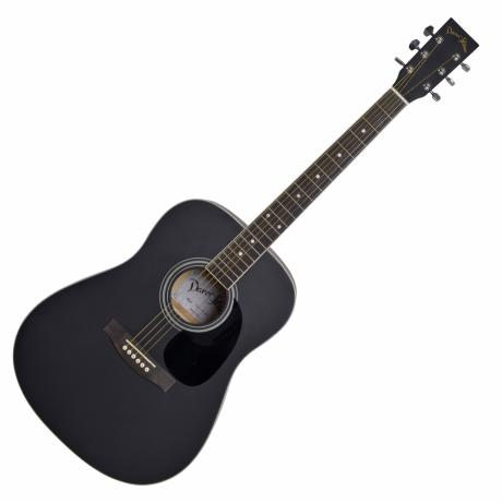 "DARESTONE ACOUSTIC GUITAR CN 41"" SATIN BLACK"