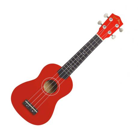 DARESTONE UKELELE SOPRANO RED 1
