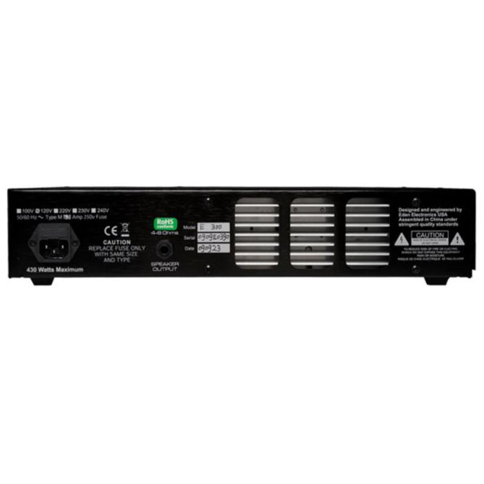 EDEN BASS AMPLIFIER HEAD 300W E SERIES 2