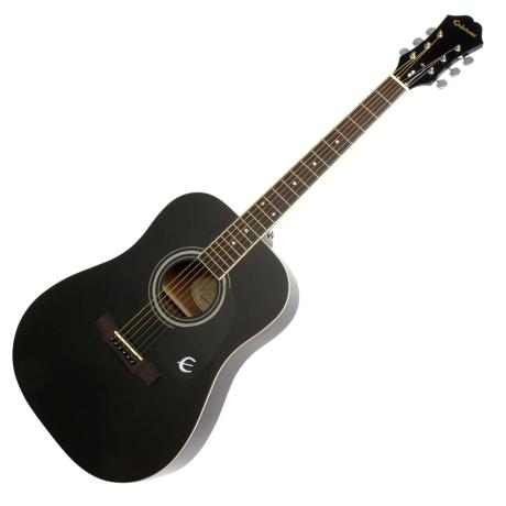 EPIPHONE ACOUSTIC GUITAR DR-100 BLACK