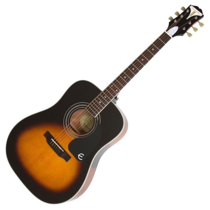 EPIPHONE PRO-1 ACOUSTIC GUITARVINTAGE SUNBURST 1