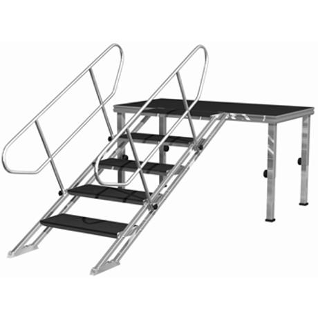EUROTRUSS ADJUSTABLE STAIRS FROM  80cm UPTO 140cm