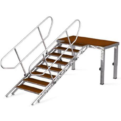 EUROTRUSS ADJUSTABLE STAIRS FROM  100cm UPTO 180cm