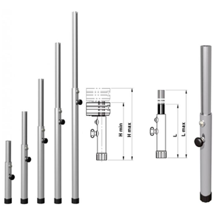 EUROTRUSS ROUND LEG TELESCOPIC   90cm ~140cm 1