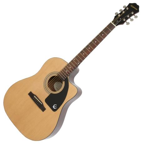 EPIPHONE ELECTRIC ACOUSTC GUITAR AJ-100CE CWY/NATURAL 1