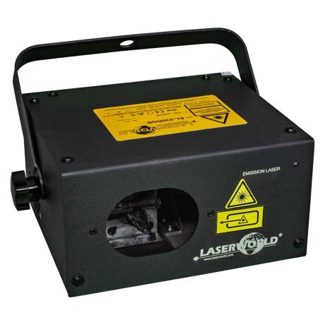 LASERWORLD DPSS RGB LASER SYSTEM with 230 mW power output  1
