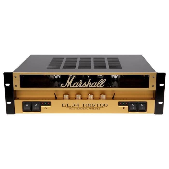 MARSHALL STEREO VALVE POWER AMPLIFIER 2x100W 1