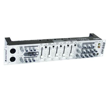 OMNITRONIC ZONE MIXER 5CH/2MIC/10IN/3OUT 1