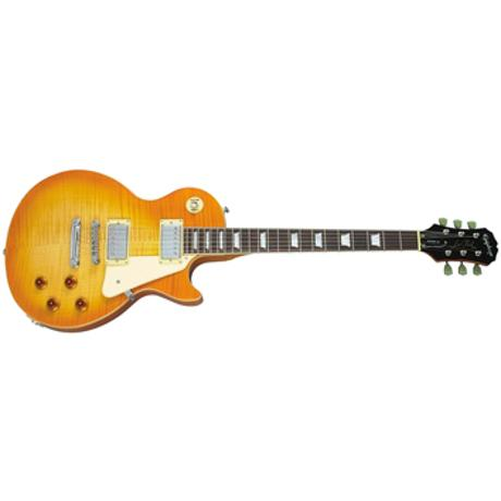 EPIPHONE ELECTRIC GUITAR LES PAUL STD TRANS AMBER