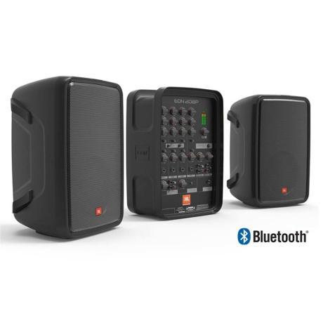 JBL ACTIVE SPEAKER SYSTEM 2-WAYS 2x150W, 8'', 8 INPUTS