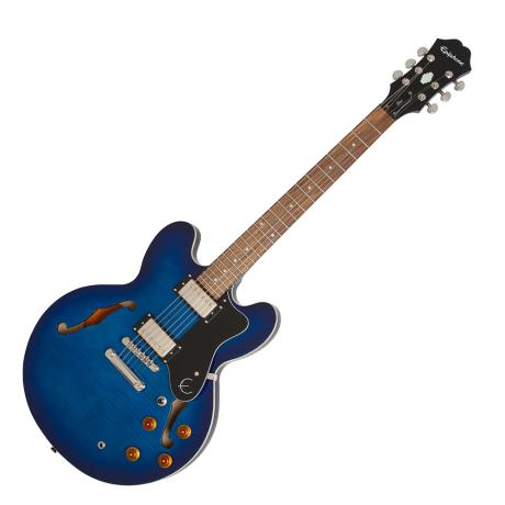 EPIPHONE ΗΛΕΚΤΡΙΚΗ DOT DELUXE FLAME TOP BLUE BURST 1