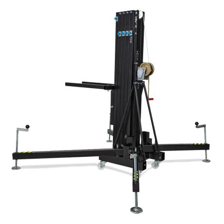 EUROTRUSS FRONT LOADER LIFTER, BLACK, 280KG - 8M 1