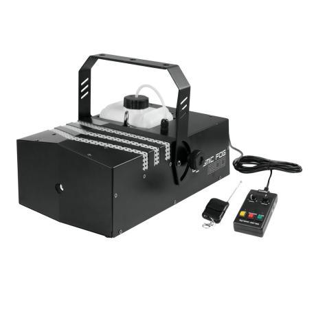 EUROLITE DMX FOG MACHINE WITH 1200 W POWER, WIRELESS REMOTE CONTROL AND TIMER