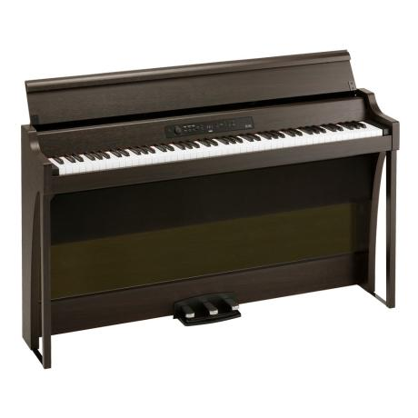 KORG DIGITAL PIANO 88 KEYS  WITH BLUETOOTH BROWN