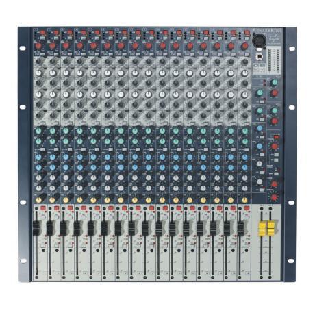 SOUNDCRAFT ΚΟΝΣΟΛΑ LIVE 16MONO/2STEREO RACK 1
