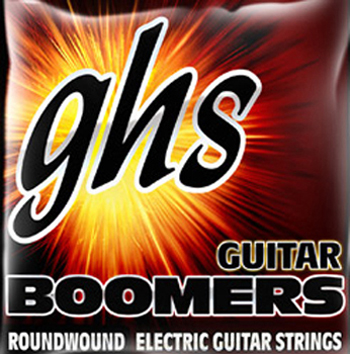 GHS ELECTRIC GUITAR STRINGS 7 STRING BOOMER