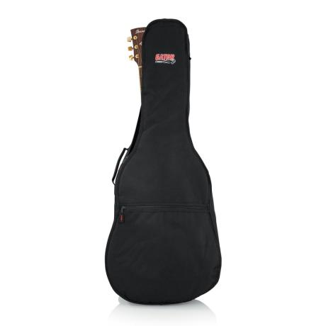 GATOR DREADNOUGHT GIG BAG W/BACKPACK STRAPS 1