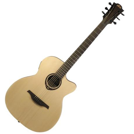 LAG E/ACOUSTIC GUITAR AUDITORIUM SLIM SNAKEWOOD CWY