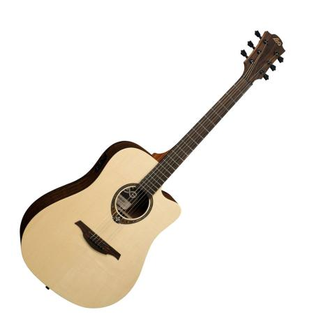 LAG ELECTRIC ACOUSTC GUITAR DREANOUGHT SNAKEWOOD CWY