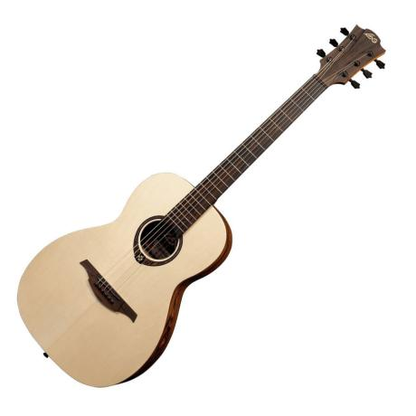 LAG ELECTRIC ACOUSTC GUITAR PARLOR SNAKEWOOD ELECTRO 1