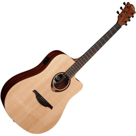 LAG ELECTRIC ACOUSTC GUITAR DREADNOUGHT CUTAWAY