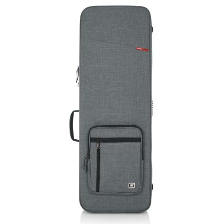 GATOR GT TRANSIT RIGID ELECTRIC GIG BAG GREY 1