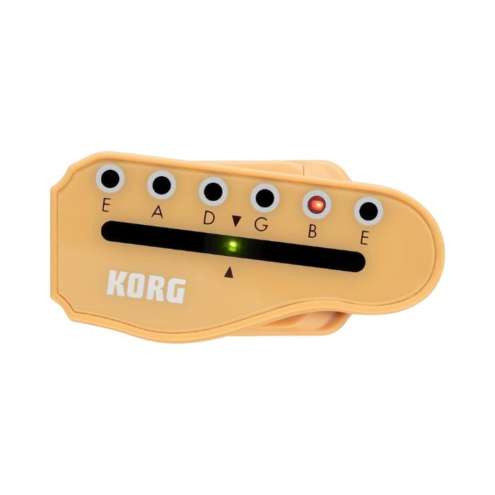 KORG CLIP TUNER FOR ELECTRIC GUITAR 1