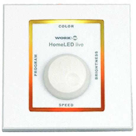 WORK ΕΠΙΤΟΙΧΟ ΧΕΙΡΙΣΤΗΡΙΟ RGB ΓΙΑ LED 1
