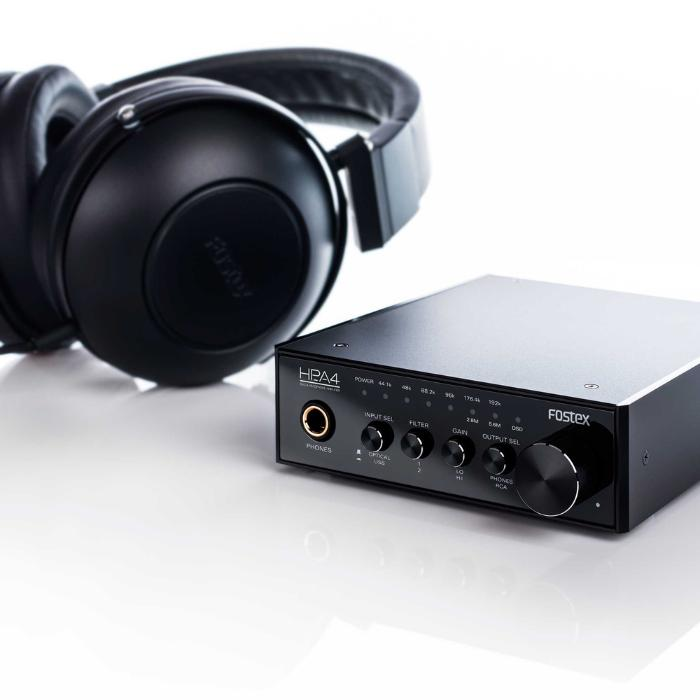 FOSTEX 24 BIT DAC HEADPHONE AMPLIFIER