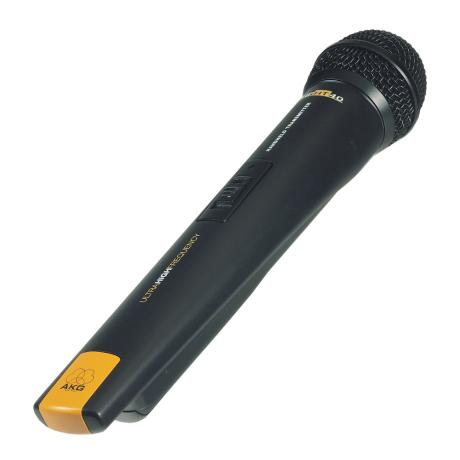 AKG HANDHELD TRANSMITER WITH D880 MICROPHONE 1UHF