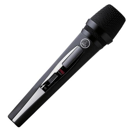 AKG HANDHELD TRANSMITER WITH D880 MICROPHONE 3UHF