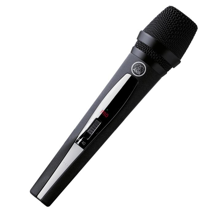 AKG HANDHELD TRANSMITER WITH D880 MICROPHONE 1UHF 1