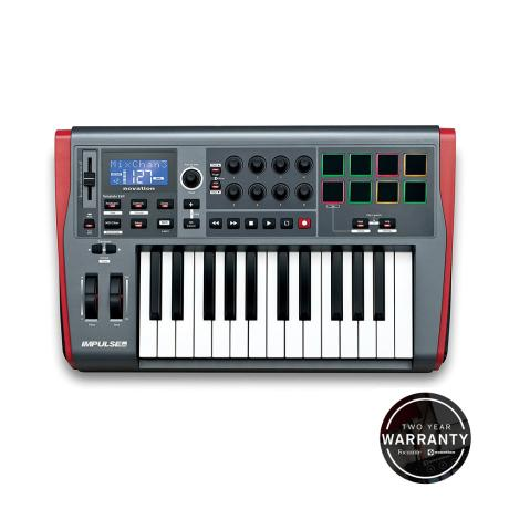 NOVATION USB MIDI CONTROLLER 25 KEYS 1
