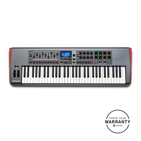 NOVATION USB MIDI CONTROLLER 61 KEYS