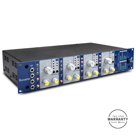 FOCUSRITE 4-CHANNEL PRE PACK PRE-AMP 1