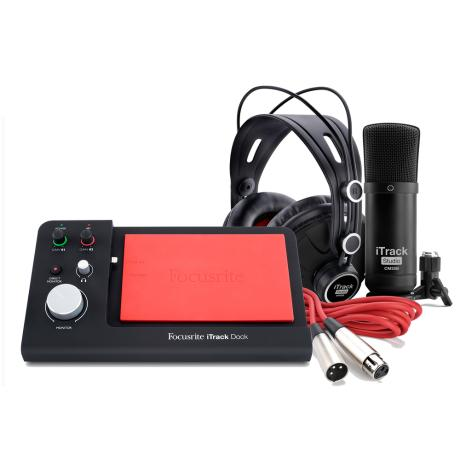 FOCUSRITE AUDIO INTERFACE IPAD* + MIC + HEADPHONES 1