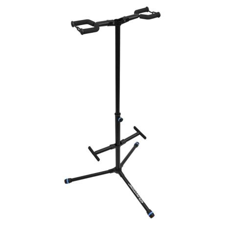 ULTIMATE HANGING STYLE DOUBLE GUITAR STAND 1