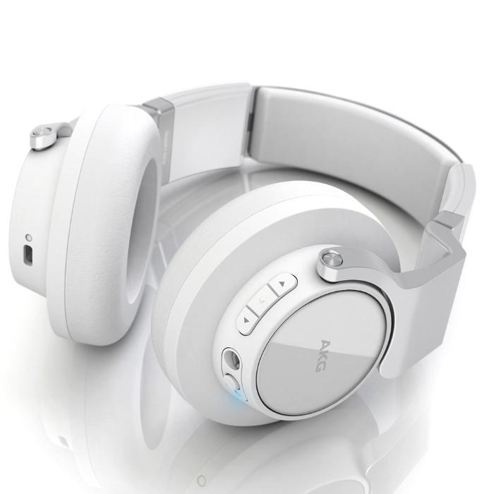 AKG BLUETOOTH HEADPHONES CLOSED-BACK DESIGN + MIC