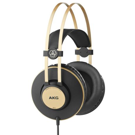 AKG STEREO HEADPHONES CLOSED-BACK & OVER-EAR DESIGN