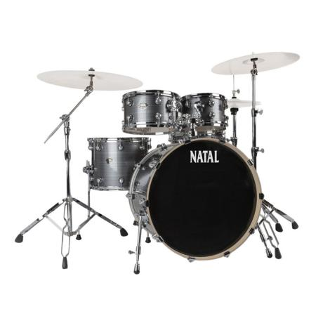 NATAL ARCADIA FUSION DRUM SET GREY