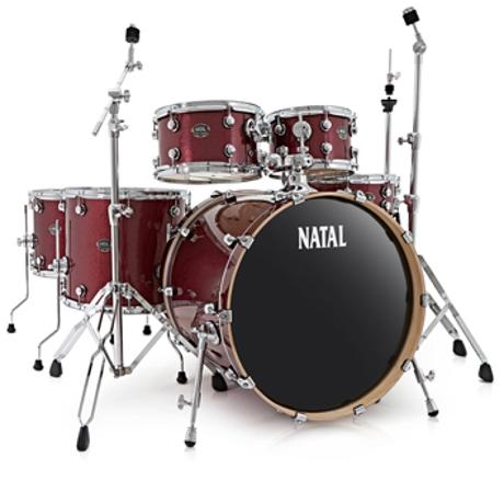 NATAL ARCADIA F20 WITH HARDWARE RED