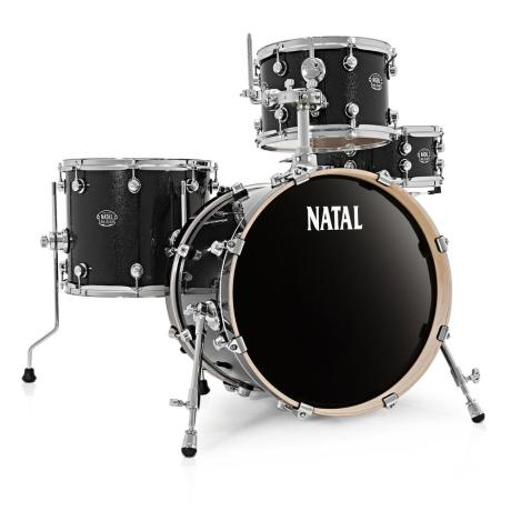NATAL ARCADIA JAZZ DRUM SET BLACK 1