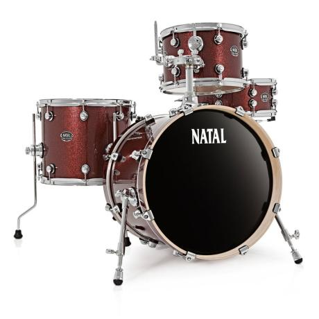 NATAL ARCADIA JAZZ DRUM SET RED 1