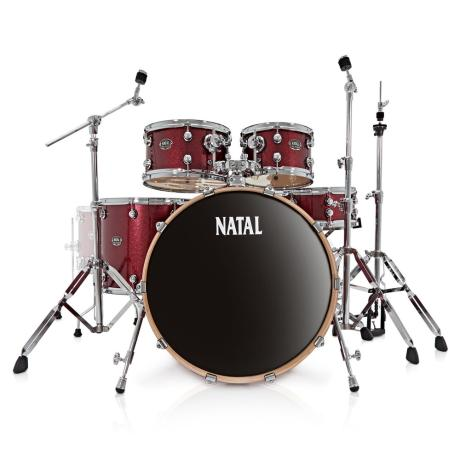 NATAL ARCADIA UFX SERIES DRUM SET, RED 1