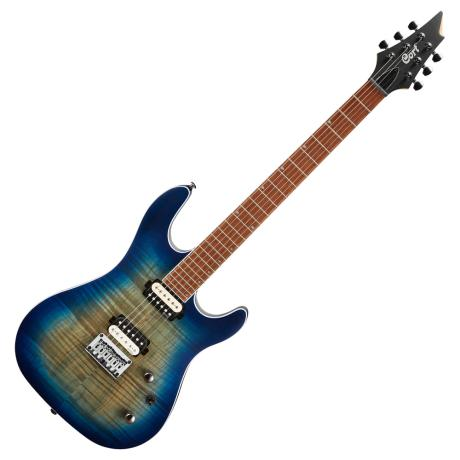 CORT ELECTRIC GUITAR KX SERIES OPEN PORE COBALT BURST HH 1