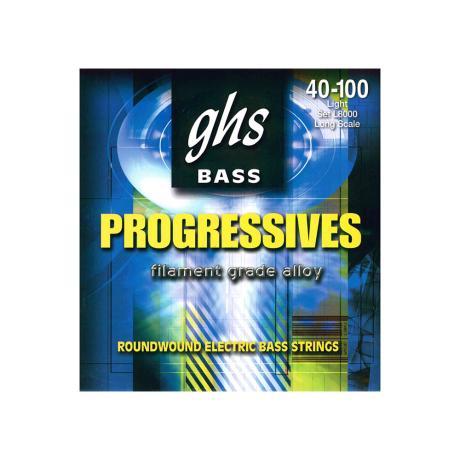 GHS BASS STRINGS PROGRESSIVES LIGHT 40-100 1