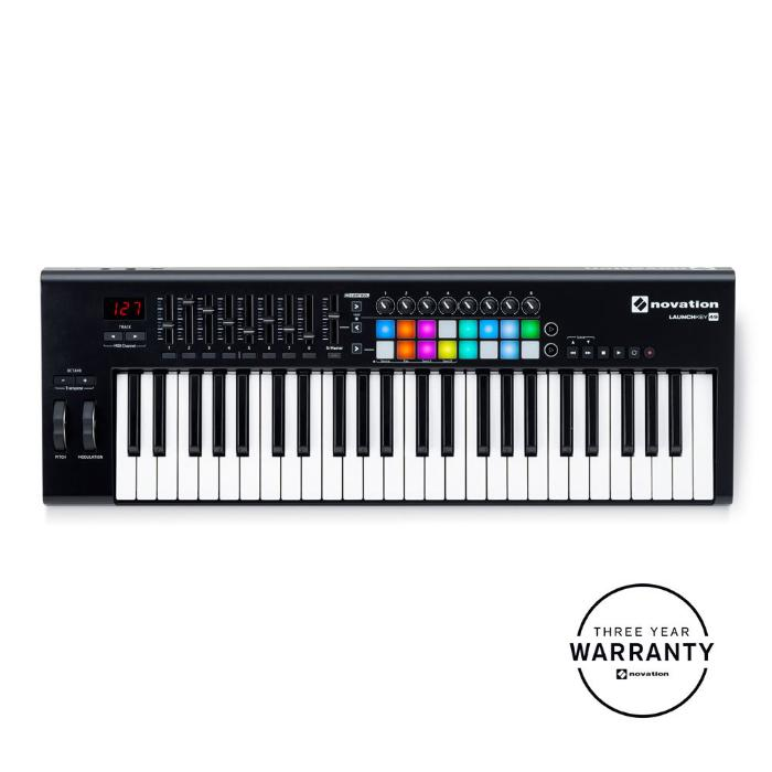 NOVATION USB MIDI CONTROLLER 49 ΔΥΝΑΜΙΚΩΝ ΠΛΗΚΤΡΩΝ 1