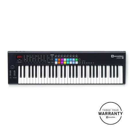 NOVATION USB MIDI CONTROLLER 61 KEYS 1